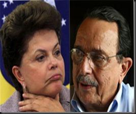 Dilma Rousseff with cool, Husband Carlos Franklin Paixão de Araújo